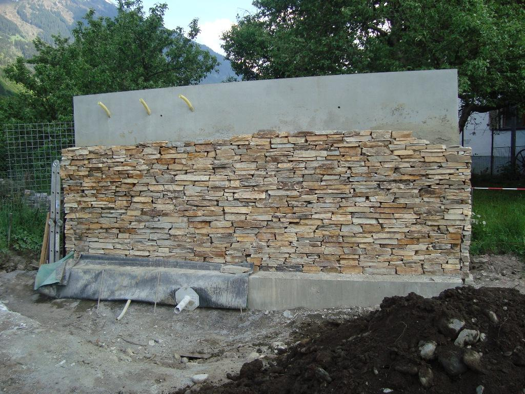 Natursteintrockenmauer/montafon schruns/austria   naturaflaire
